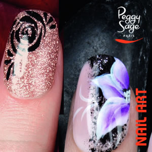 Nail Art by Peggy Sage